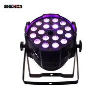 4 шт./лот 18*12 Вт RGBW с переменной фокусировкой светодио дный номинальной света на открытом воздухе светодио дный Par зум DMX512 для диско DJ Проекто...