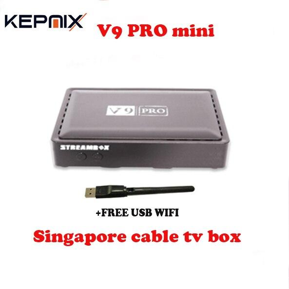singapore STREAMBOX V9 PRO mini VS blackbox c801 hd MOST Stable Singapore starh*b cable TV box upgrade C801 HD football game xdevice blackbox 48 в новосибирске