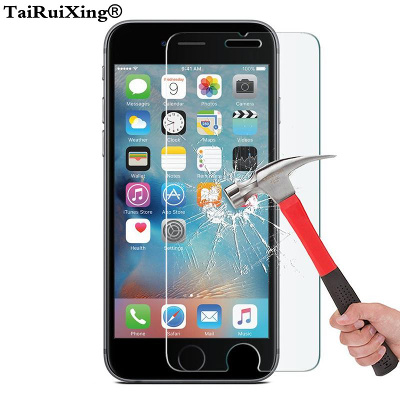 For IPhone SE 4s 5s 5C 6s 7 8 Plus 0.3mm 2.5D Ultrathin Screen Protector For IPhone XS Max XR XS X 10 8 7 6 6s Plus