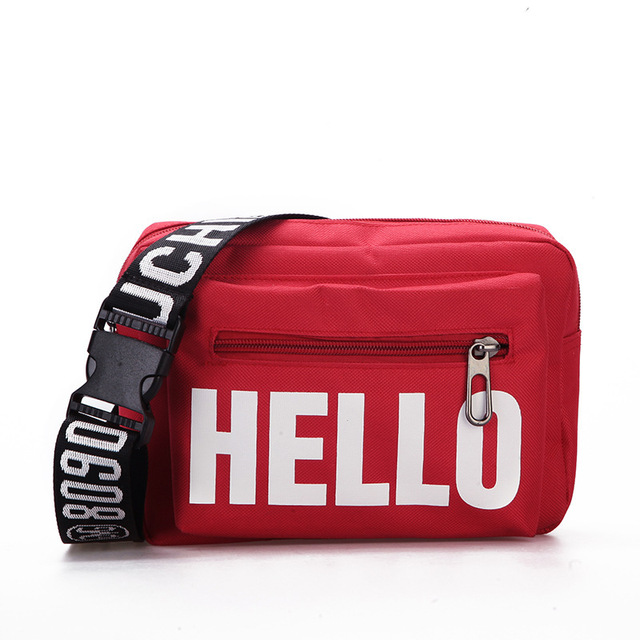 2018 Canvas Man Women Hip Waist Bags Travel Fanny Pack Shoulder Bag Casual Chest Waist Packs Blet Bag lbolso cintura mujer WP189