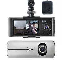 2018 Auto 2.7 Inch GPS Camera 140 Degree Video Recorder Car DVR Dash Cam Car DVR Dual Lens with GPS G Sensor Cam Corder Dissplay