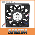 Free Shipping industrial fans For Delta FFB1212SH 12025 12cm 120mm DC 12V 1.24A 3-pin server inverter case axial cooler
