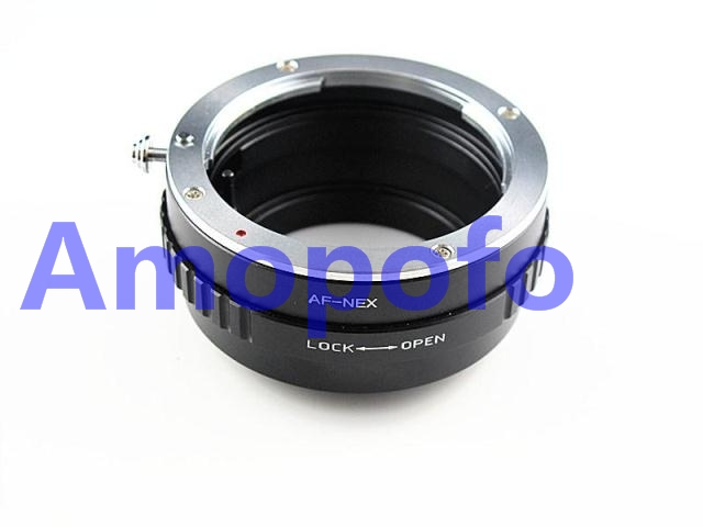 US $21 9 |AMOPOFO For Sony Minolta AF MA Lens to for Sony Alpha NEX 7  Adapter Replace for LA EA1 AF NEX Adapter-in Lens Adapter from Consumer