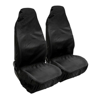 2Pcs Universal Heavy Duty Nylon Black Car Seat Covers Waterproof Protectors Van Front 132 * 54 cm / 52 * 21inch|Automobiles Seat Covers|Automobiles & Motorcycles -