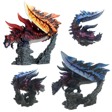 Limited Big Monster Hunter World Online Game Dinovaldo Dragon Model Toys Collectible Monsters Figure Action