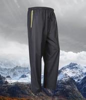 Double Layer men women rain-proof pants Waterproof Windbreak Trousers Motorcycle Bicycle raincoats retractable ride Rain Pants