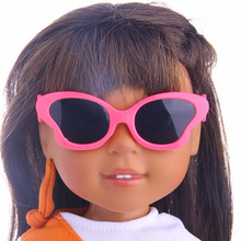 DreamButterfly Frame Fashion Glasses Fit For American Girl Doll 18 inch American Girl Accessories doll accessories heart shaped round glasses suit for blythe doll glasses for american girl dolls sunglasses