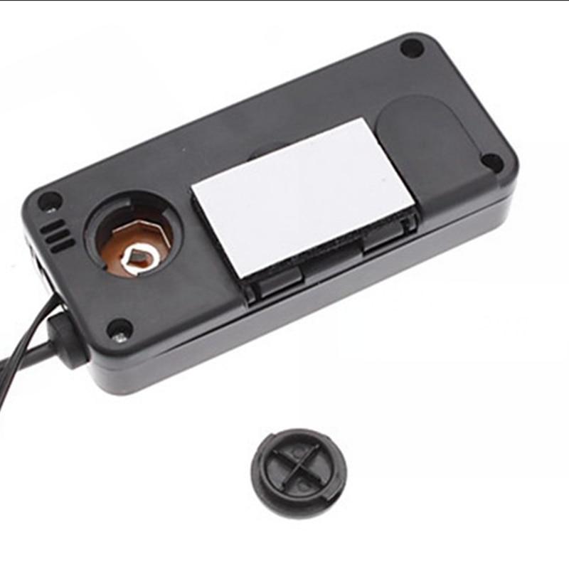 DC 12V Termómetro digital para coche Negro Mini LCD Interior del - Instrumentos de medición - foto 4