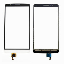 new for LG G3 D850 D851 D855 touchscreen front touch glass screen Repair Part Digitizer white black and gold color  in stock