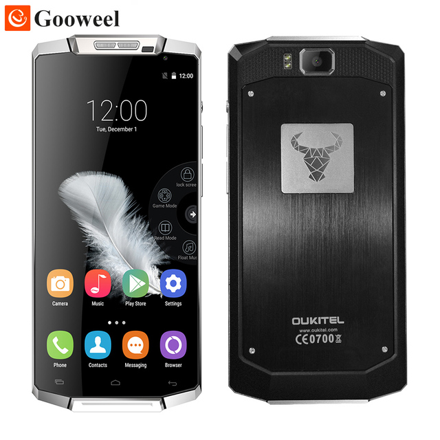 Oukitel K10000 cell phone MTK6735P Quad Core 5.5inch Screen Android 5.1 2GB/16GB 10000mAh Battery 4G LTE Smartphone