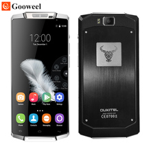 Oukitel k10000 сотовый телефон mtk6735p quad core 5.5 дюймов hd экран android 6.0 2 ГБ + 16 ГБ 10000 мАч батареи 13mp cam 4 г lte смартфон