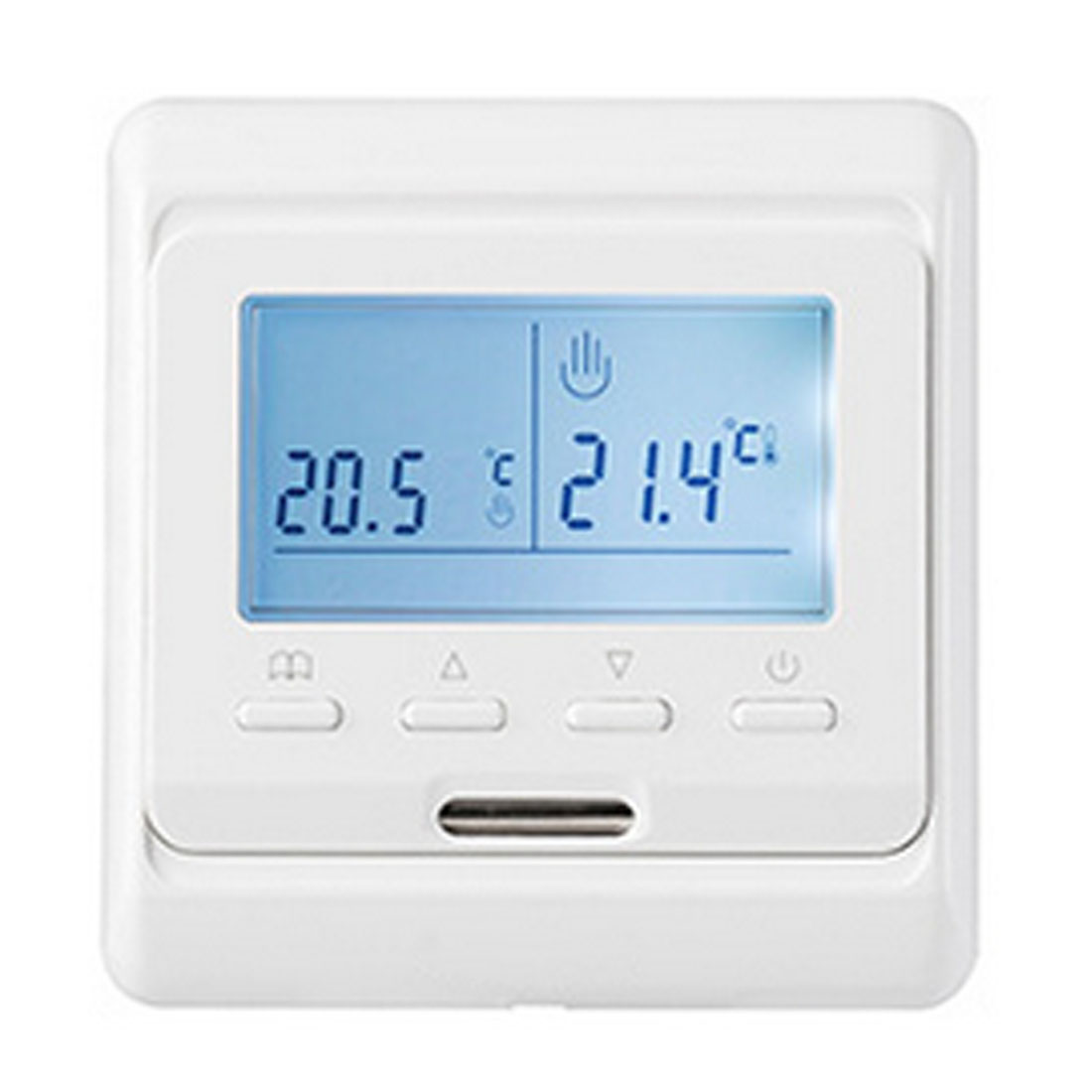 Digital Thermostat Weekly Programmable AC220V 16A Floor Heating Thermostat Room Temperature Controller Thermometer floor heating thermostat air condition temperature controller switch 16a 220v b119