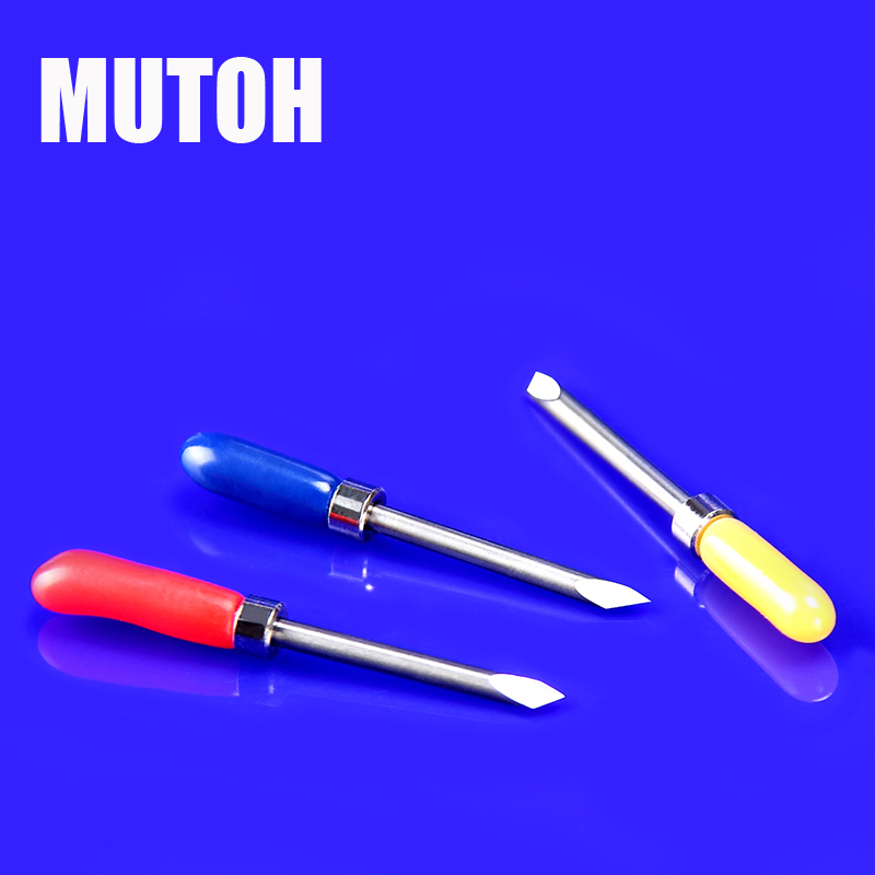 5pcs Mutoh Plotter Blade With Spring For Vinyl Cutter 3 Types 30 Degree 45 Degree 60 Degree Printer Machinery Parts