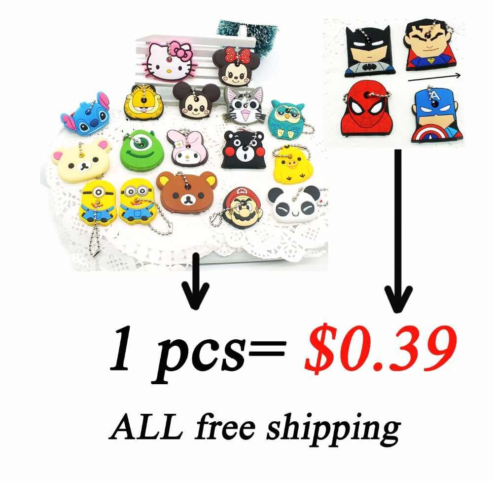 Zoeber 20 шт. набор брелков для ключей с животными, цветные брелки для ключей с героями мультфильмов, аниме, аниме, брелки для ключей, Детские брелки
