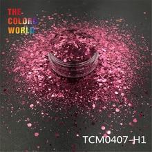 TCT-193 Шестигранная форма, массивный микс, металлический цвет, блеск для ногтей, для дизайна ногтей, сделай сам, украшение, боди-арт, макияж, FacePainting, ручная работа, сделай сам