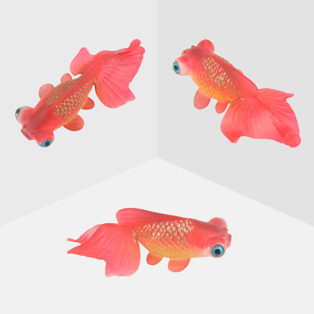 5pcs newest artificial goldfish fish aquarium simulation Environmentally friendly decorations