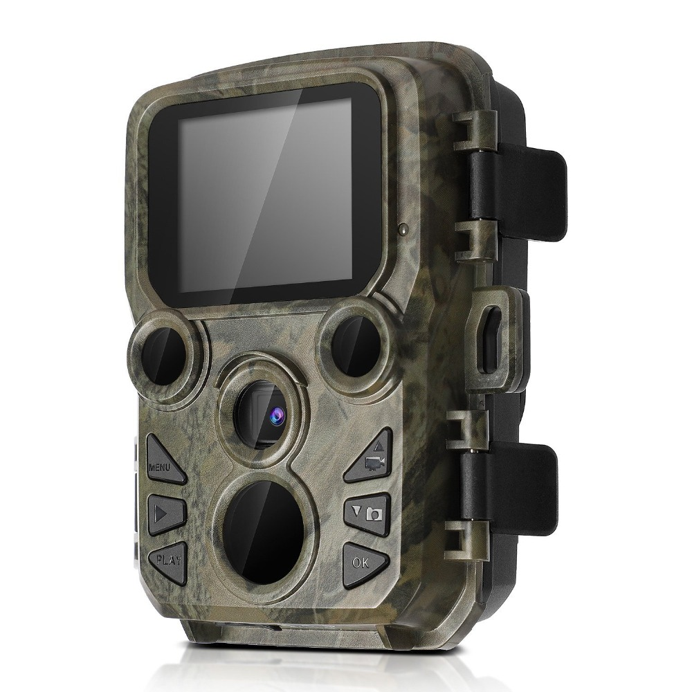 Motion Activated Game Trail Camera 12mp 1080p Night Vision Wildlife Camera Scout guard IR LEDs Range up to 65ft IP66 Waterproof 12mp hd 1080p black ir game hunting scouting camera ip66 super long detection range up to 75ft 2 0 lcd ir game hunter cam