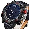 AMST Военная СВЕТОДИОДНЫЙ Цифровой Часы Погружения 50 М Кожаный Ремешок Спортивные Часы reloj hombre Часы Мужчины Relogio Masculino