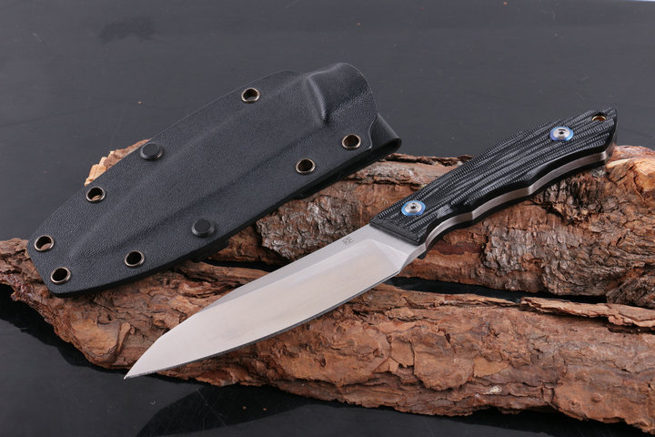 CHE Camping Tactical Fixed Knives,D2 Blade G10 Handle Hunting Knife,Outdoor Survival Knife. цена