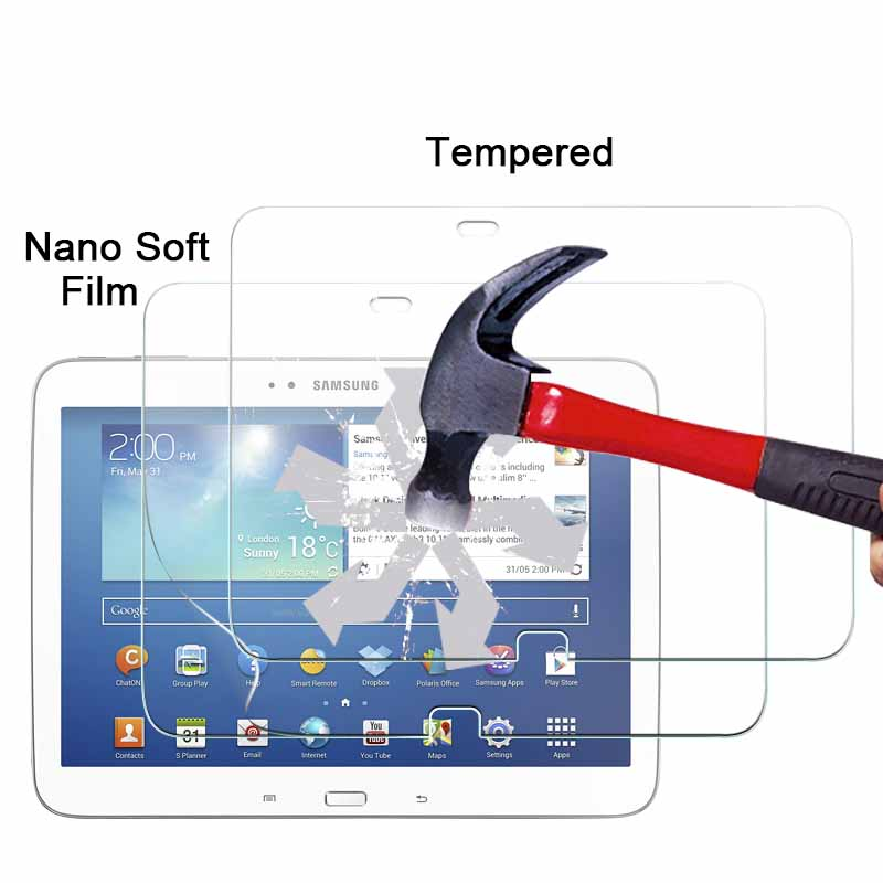 1pce Explosion-proof Nano Soft Film For Samsung Galaxy Tab 3 10.1 P5200 10.1