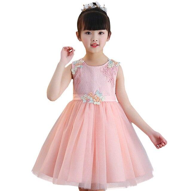 8a82b476f1f6 2018 new summer Princess Dresses Girls Children clothing Wedding ...