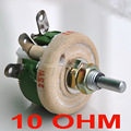 25W 10 OHM High Power Wirewound Potentiometer, Rheostat, Variable Resistor, 25 Watts.