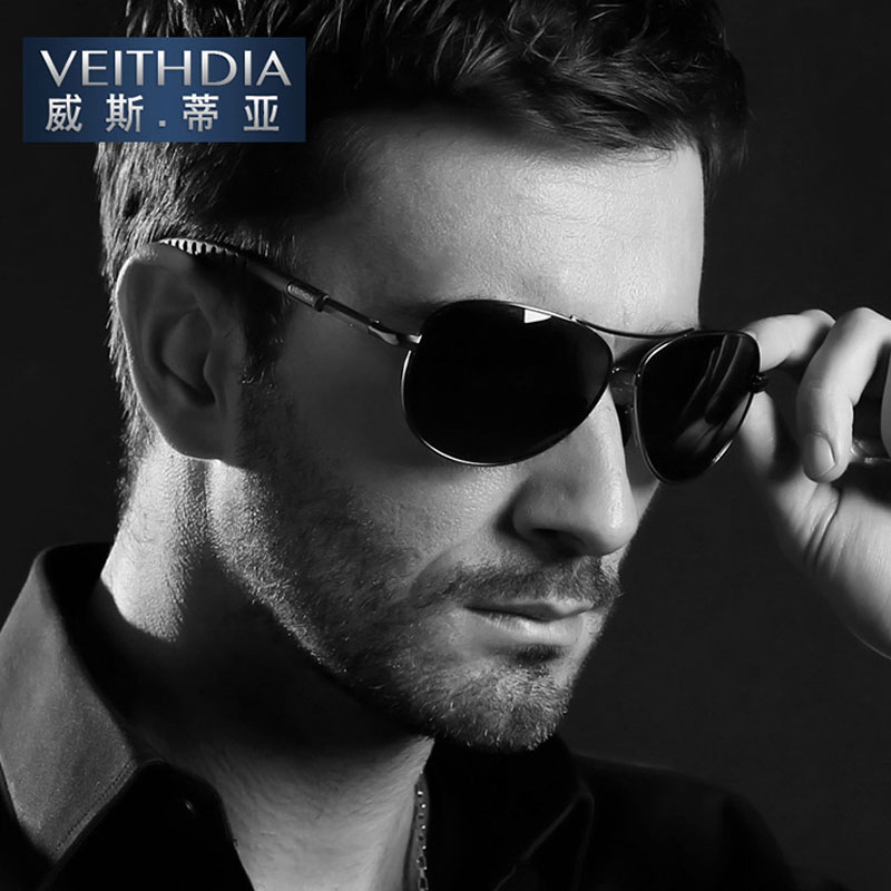 efe425e7b8 VEITHDIA Aviator Polarized Men s sunglasses Brand Driving Eyewear  Accessories Sun Glasses Men women UV400 3088