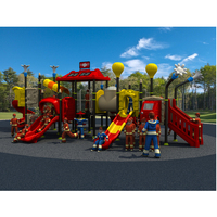 Big Outdoor Playground Amusement Play Structure For Park Community Mall Large Combined Playground Slide For Kids