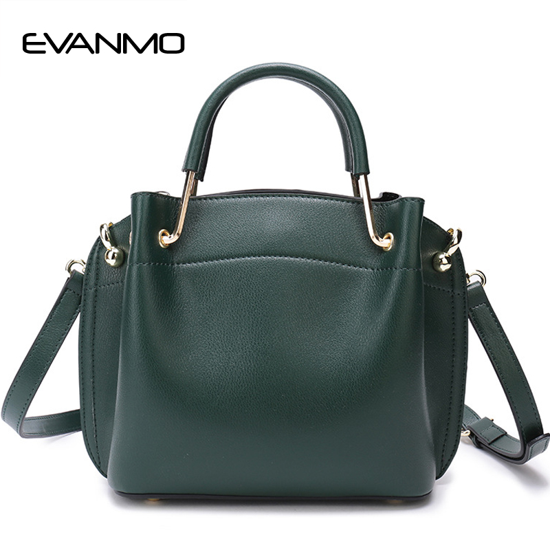 Top Brand Women Bucket Handbag Genuine Leather Fashion Female Women Bag Large Capacity Shoulder Bags Designer Casual Tote Bag women canvas messenger bags female crossbody bags solid shoulder bag fashion casual designer handbag large capacity tote gifts