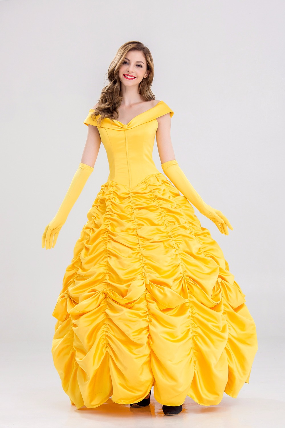 S 4XL Beauty and the Beast Halloween Princess belle ...