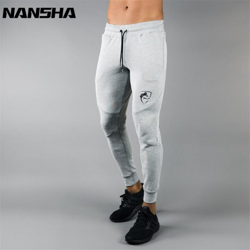 ALPHALETE New Sweatpants Men's Solid Workout Bodybuilding Clothing Casual Gyms Fitness Sweatpants Joggers Pants Skinny Trousers