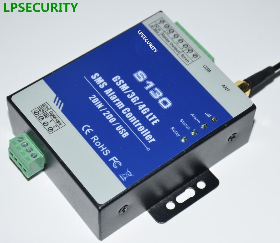 Lpsecurity промышленного gsm сигнализация провод переключатель дистанционного управления для власти станции воды масляный бак безопасности дом...