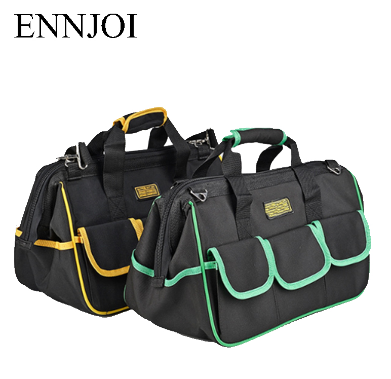 16 Tool Bags 600D Close Top Wide Mouth Electrician bags High quality Small Bags