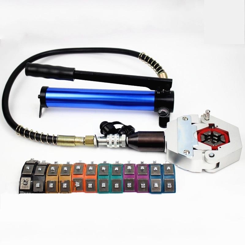 Manuel hydraulique climatisation tuyau sertisseur AC réparation outils voiture climatisation réparation outil FS-7842C