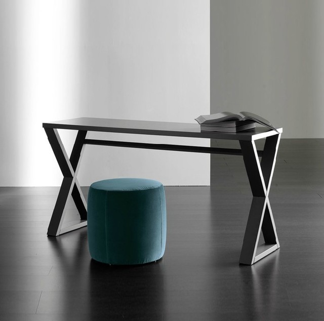 Solid Wood Furniture Wrought Iron Table Desk American Country Retro Scandinavian Style Computer