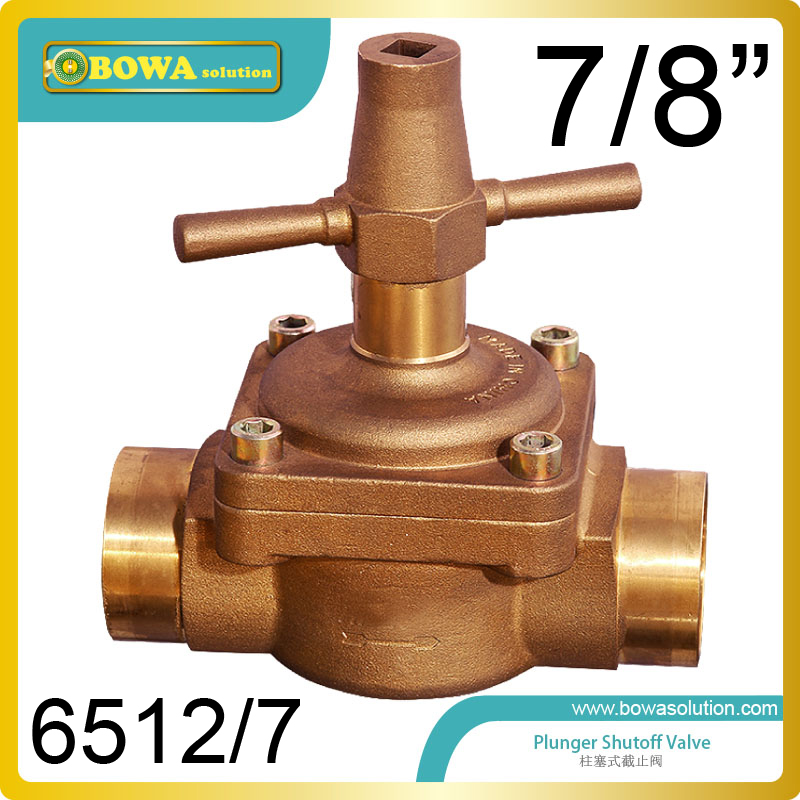 7/8 Global Valve can be used in commercial refrigeration system, civil and industrial air conditioning equipments thermo operated water valves can be used in food processing equipments biomass boilers and hydraulic systems