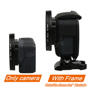 Image 4 - Professional 52mm UV Filter for GoPro Hero 5 6 7 Black Action Camera with Lens Cover Mount For Go Pro 7 6 Accessories