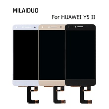 цена на LCD Display For Huawei Y5II Y5 II Touch Screen Digitizer LCD For Huawei Play 5 Assembly Replacement 5 Inch Black White Gold