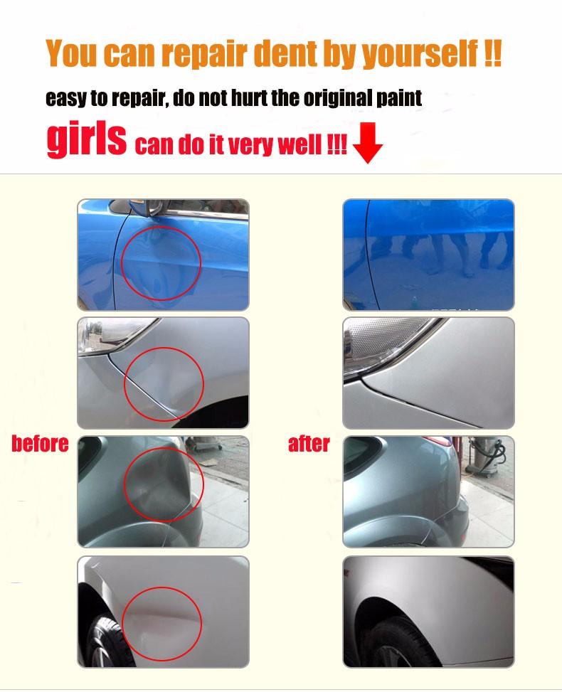 Купить Супер Инструменты PDR Вмятина Удаления Paintless Dent Repair Tool Дент Lifter Присоски Дент Съемник Присоске Инструмент Набор Комплект Ferramentas дешево