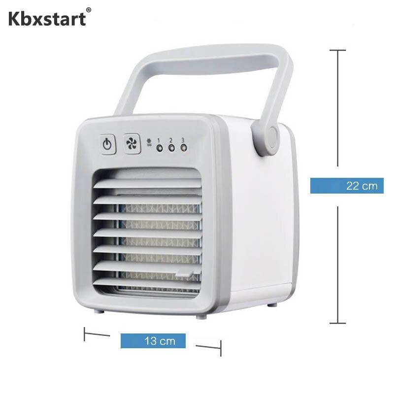 Mini climatiseur Ventilador USB Klima climatisation humidificateur refroidisseur d'air ventilateurs de poche DC 12 V ventilateur maison voiture ventilateur de refroidissement à eau