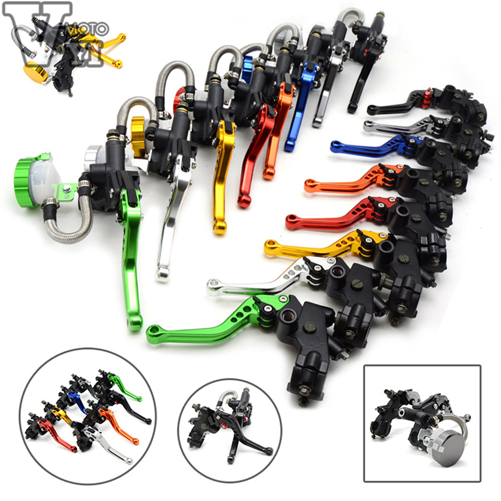 Free shipping motorcycle CNC Aluminum Adjustable brake clutch lever& brake pump For Ducati GT 1000 2006 2007 2008 2009 2010 aftermarket free shipping motorcycle parts eliminator tidy tail for 2006 2007 2008 fz6 fazer 2007 2008b lack