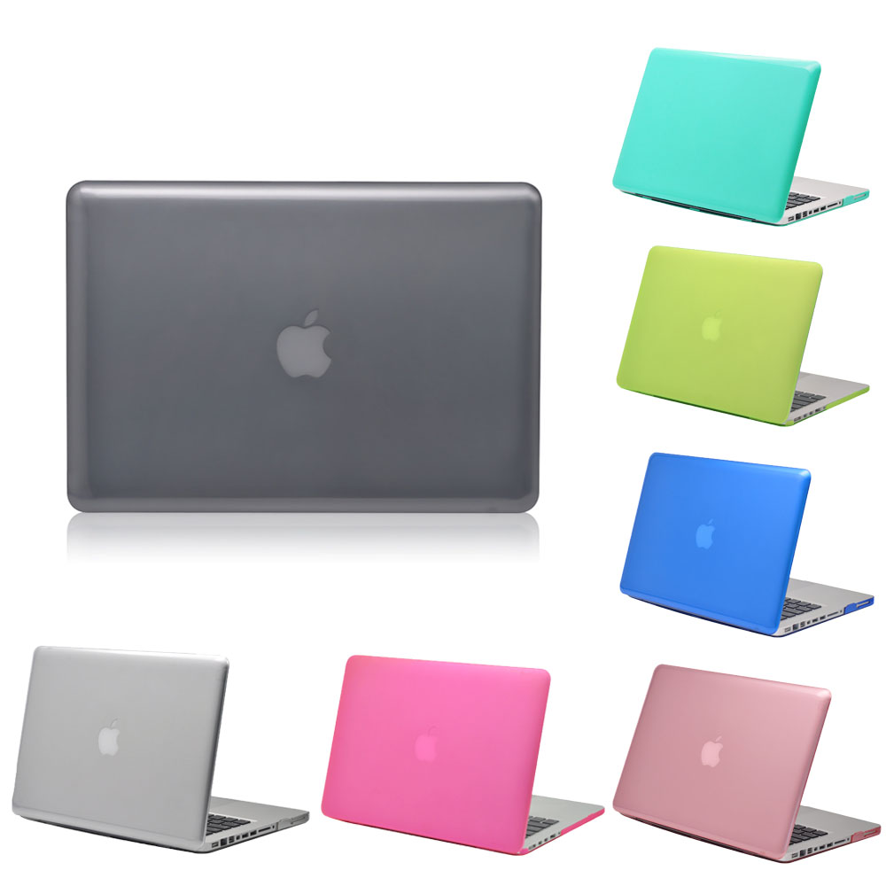 Plastic Matte Thin Case Cover for Macbook Air Retina Pro 11 12 13 15 Inch Laptop Bag Case for Macbook Pro 13 15 With Touch Bar