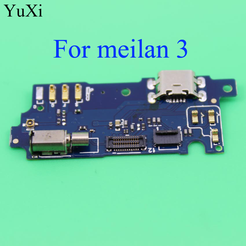 YuXi USB Charging Port Board Flex Cable Dock Connector Parts For Meizu Meilan M3 Mobile Phone