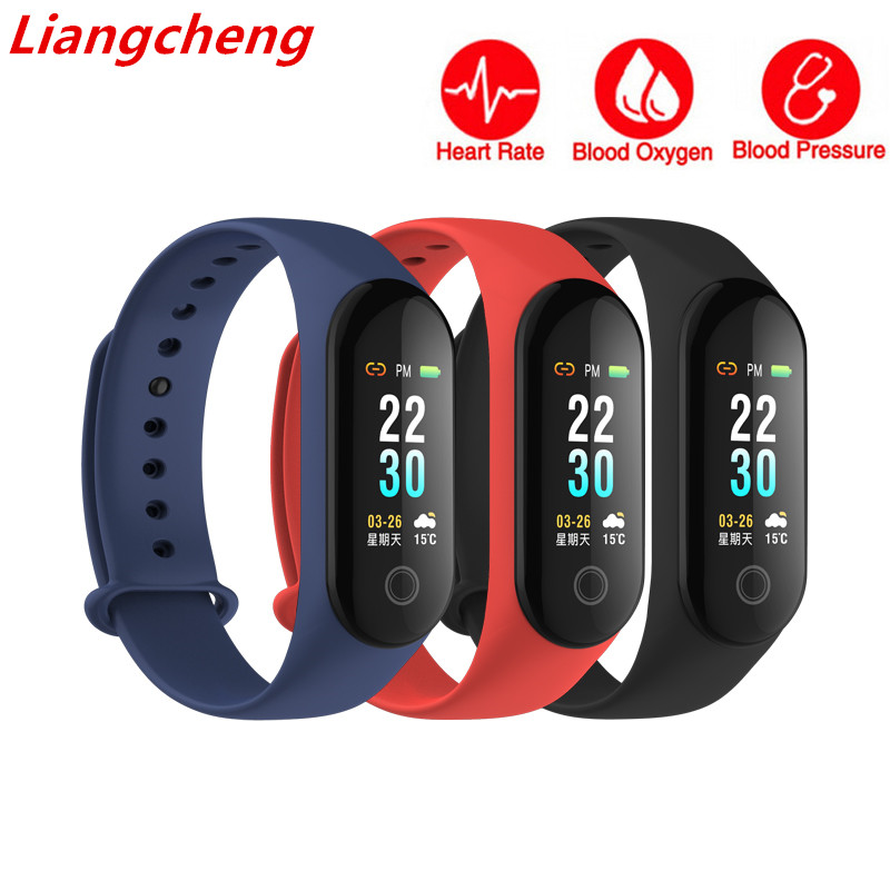 где купить M30 for xiaomi mi band 3 Smart bracelet IP67 wristband heart rate monitor Blood pressure Bracelet Fitness Tracker PK mi band 3 по лучшей цене