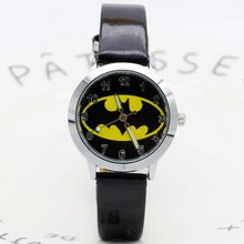 Batman Children Fashion Watches Quartz Wristwatches Waterpro