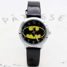 Batman Children Fashion Watches Quartz Wristwatches Waterproof Jelly Kids Clock