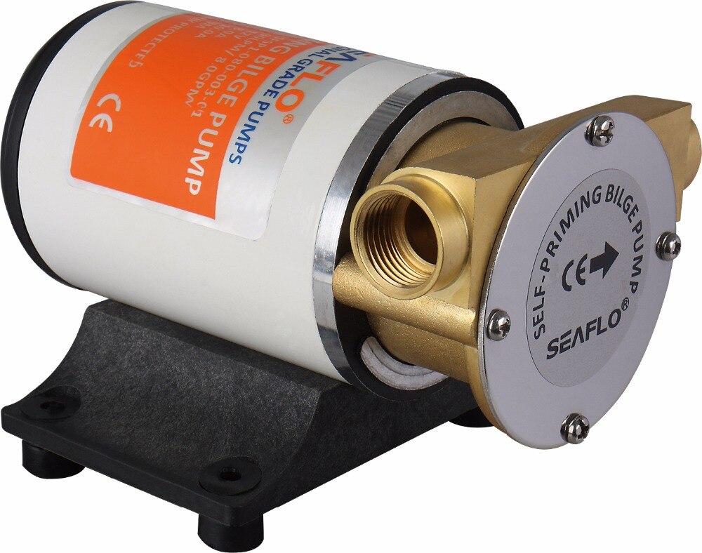 New SEAFLO 12V Self-priming Bilge Pumps 8GPM 30LPM new seaflo 12v self priming bilge pumps 8gpm 30lpm