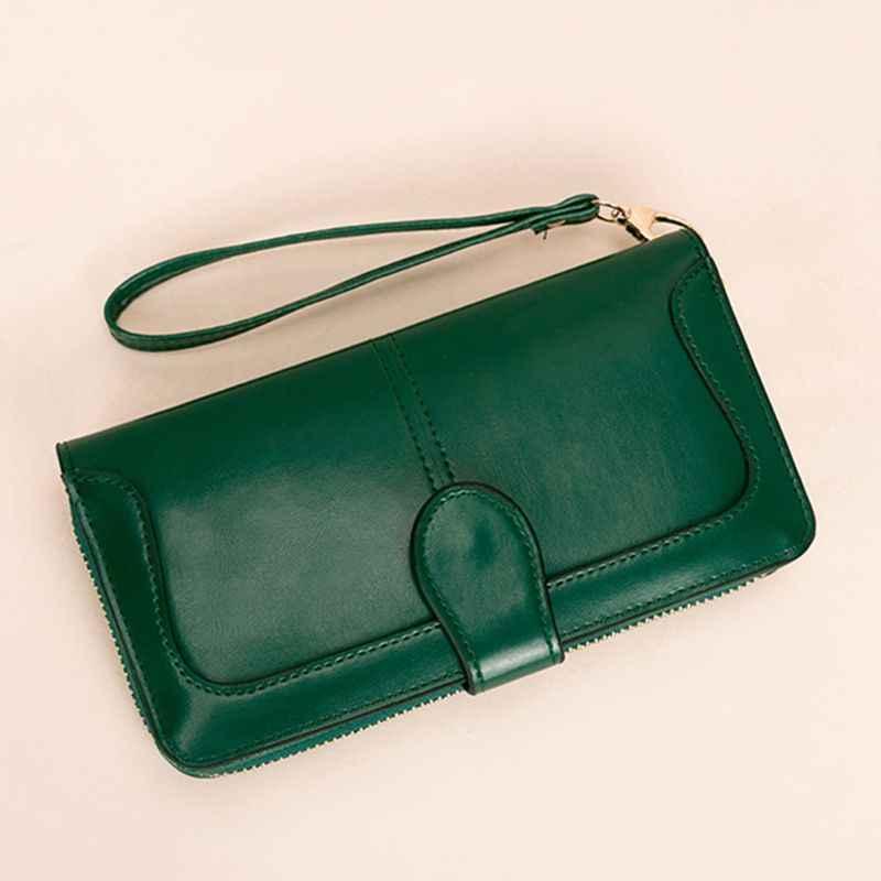 Женский клатч из искусственной кожи, кошелек, сумочка-ристлет, длинный держатель для кредитных карт, сумка для телефона, сумочка