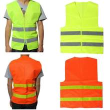Car Reflective Safety Vest body Safe Protective Device Traffic Facilities For Outdoor Motor Running Cycling Sports Warning Cloth(China)