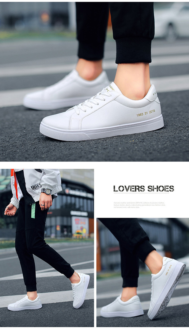 HTB15z3uaEvrK1RjSspcq6zzSXXah 2019 Spring White Shoes Men Casual Shoes Male Sneakers Cool Street Men Shoes Brand Man Footwear KA793